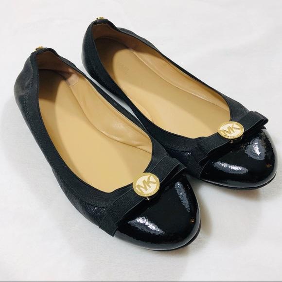 löparskor senaste designen bästa priserna Michael Kors Shoes | Ballerina Flats Black Sz 85 | Poshmark